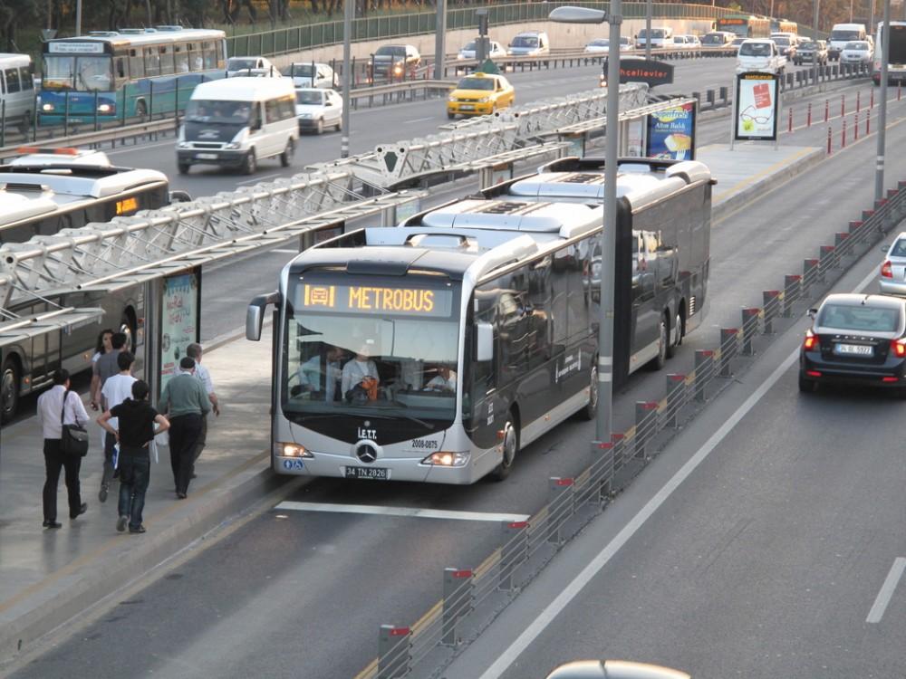 IETT Söğütlüçeşme-Avcılar Metrobüs Hattı Projesi